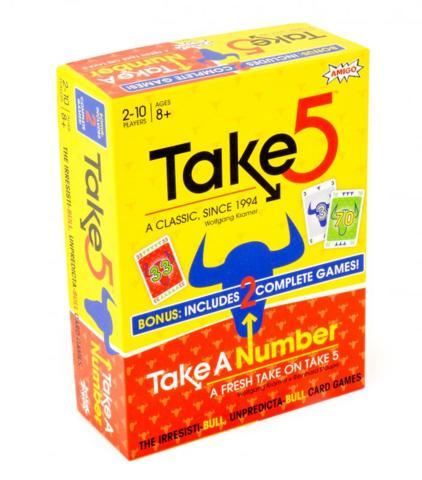 Take 5 And Take A Number Bonus Pack
