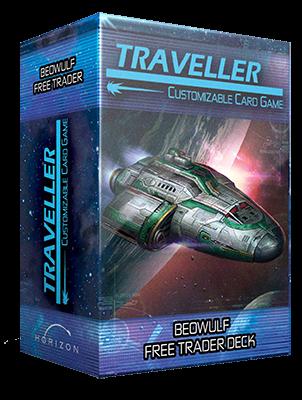 Traveller Deck Plan 1: Beowulf-Class Free Trader