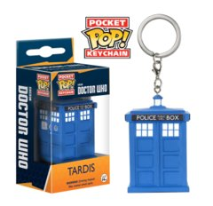 Dr Who Tardis Pocket POP! Keychain