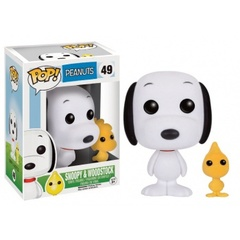Funko Pop! Animation Peanuts - Snoopy & Woodstock Flocked Variant Vinyl Figure 10cm limited