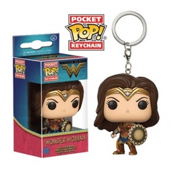 Funko Pocket POP! Keychain DC Comics - Wonder Woman Figure 4cm