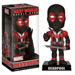 Funko Wacky Wobblers Marvel - Deadpool X-Force Costume Variant Bobble Head 15cm limited