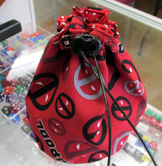 Large Deadpool Dice Bag