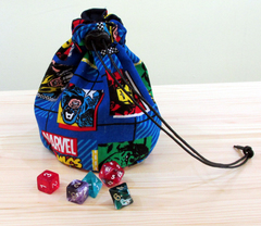 Dice Bag Marvel Comics