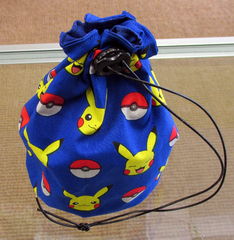 Large Pikachu Dice Bag