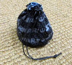 Dice Bag Star Wars Logo Grey