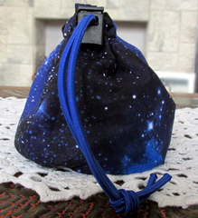 Starry Space Dice Bag
