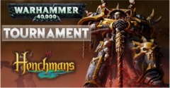 Warhammer 40K Tournament (8th Sept)