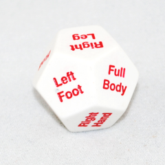 Body Location Dice