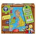 Great Britain & Ireland Map Puzzle