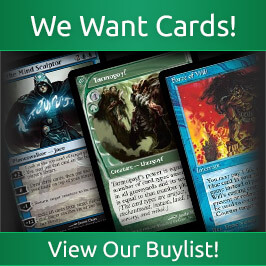 We Want Cards, View Our Buylist