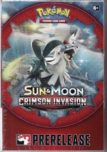 pokemon sun moon crimson invasion pre release box pokemon