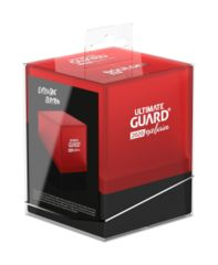 Ultimate Guard - Boulder Deck Box 100+ - Red/Black