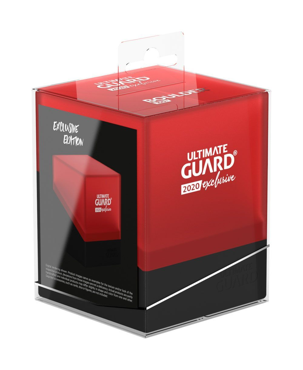 Ultimate Guard - Boulder Deck Box 100+ - Red/Black