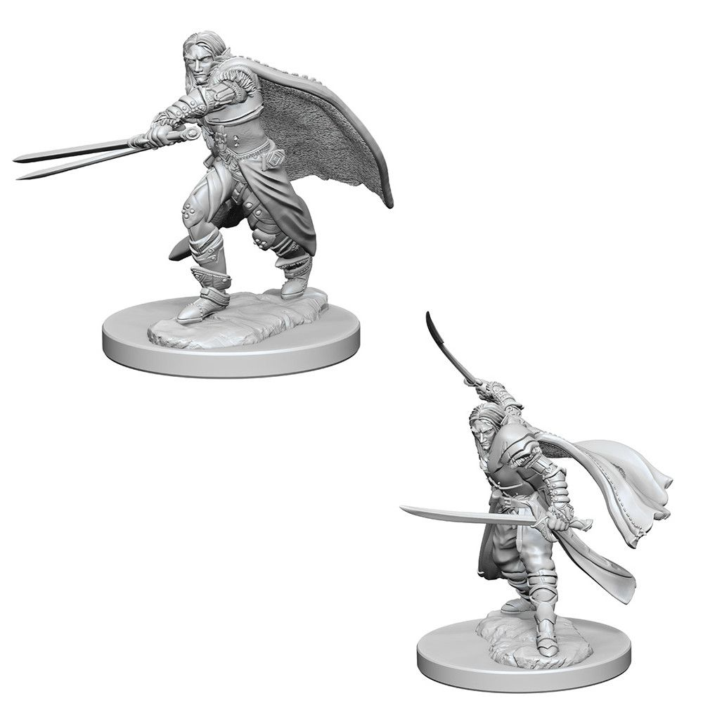D D Unpainted Minis Elf Male Rogue Dungeons And Dragons Miniatures Hfx Games