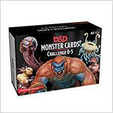 Dungeons & Dragons Spellbook Cards: Monsters 0-5