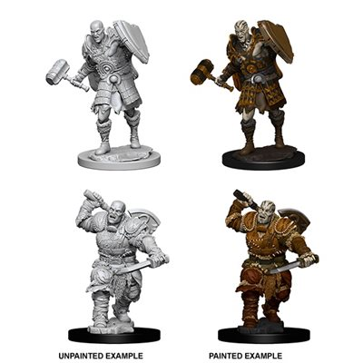 Dd Unpainted Minis Goliath Male Fighter Dungeons And Dragons