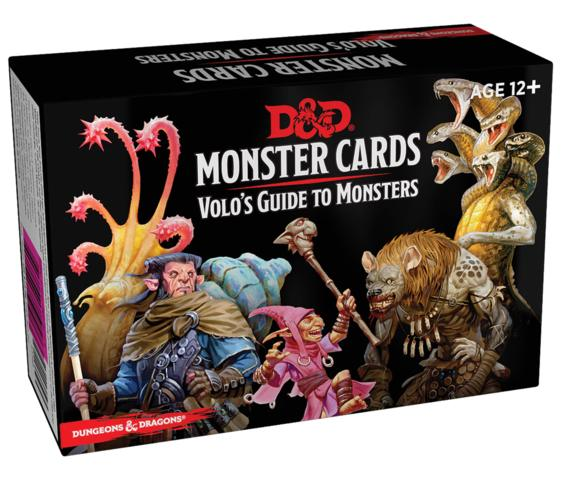 Monster Cards: Volos Guide to Monsters