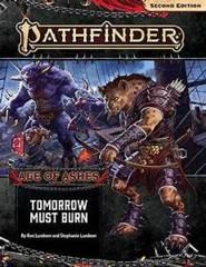 Pathfinder 2E RPG: Adventure - Tomorrow Must Burn
