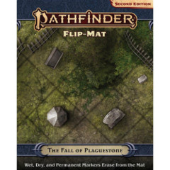 Pathfinder 2E RPG: Flip-Mat - The Fall of Plaguestone