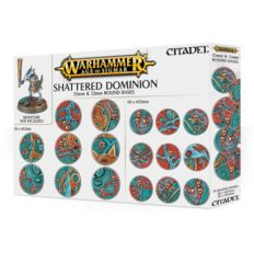 AOS: Shattered Dominion: 25mm and 32mm Round Bases