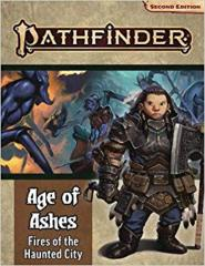 Pathfinder Age of Ashes 4: Fires of the Haunted City