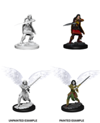 D&D Unpainted Minis - Aasimar Female Fighter