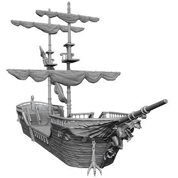 D&D Unpainted Minis - The Falling Star Sailing Ship