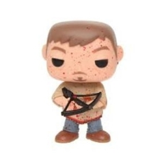 Funko Pop! - The Walking Dead - #72 - Daryl Dixon (Bloody Poncho, Hot Topic Excl.)