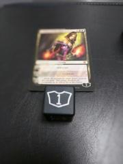 Metal Planeswalker Loyalty Dice Black (1-6) Magic the Gathering