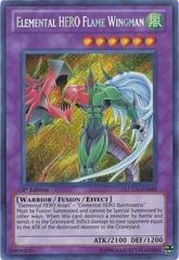 Elemental HERO Flame Wingman - LCGX-EN045 - Secret Rare - 1st Edition