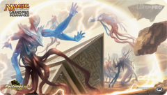 Grand Prix Indianapolis Quarantine Field Playmat