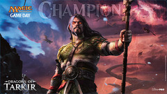 Dragons of Tarkir Game Day Champion Sarkhan Playmat
