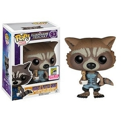 Funko Pop - Guardians of the Galaxy - #93 - Rocket & Potted Groot (Funko Summer Convention 2015 Exclusive)