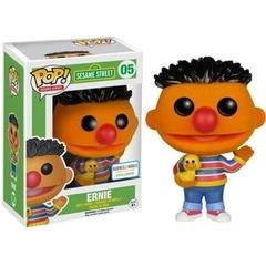 Funko Pop - Sesame Street - #05 - Ernie (Flocked/Barnes & Noble Exclusive)