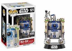Funko Pop - Star Wars - #121 - R2-D2, Jaba's Skiff (Smuggler's Bounty Excl.)