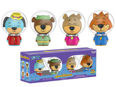 Funko Dorbz - Hanna Barbera - 4 pack - Huckleberry Hound, Yogi Bear, Boo Boo, and Mr. Jinx (SDCC 2017 Pop Up Shop Excl. Lmtd. 10
