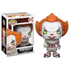 Funko Pop - IT - #472 - Pennywise (with Boat)