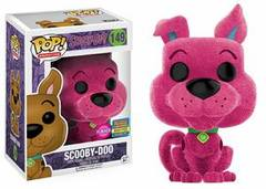 Funko Pop! - Scooby-Doo - #149 - Scooby-Doo (Pink Flocked; Funko Fundays Excl. lmtd.1000)