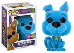 Funko Pop! - Scooby-Doo - #149 - Scooby-Doo (Blue Flocked; Funko Fundays Excl. lmtd.2500)