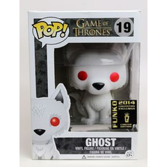 Funko Pop! - Game of Thrones - #19 - Ghost (2014 Con. Excl.)