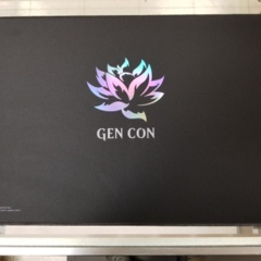 Gencon Exclusive 25th Anniversary MTG FOIL Black Lotus Playmat