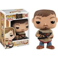 Funko Pop! - The Walking Dead - #72 - Daryl Dixon (Poncho, Hot Topic Excl.)