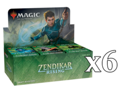 Zendikar Rising Booster Case (6 boxes)