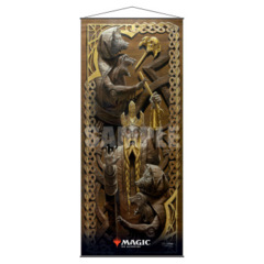 Ultra Pro: Kaldheim Wall Scroll featuring The Bears of Littjara