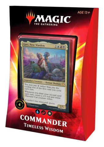 Ikoria: Lair of Behemoths Commander 2020 - Timeless Wisdom