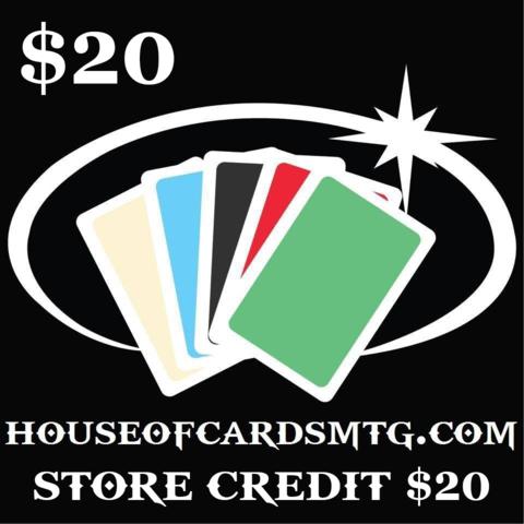 Store Credit - $20