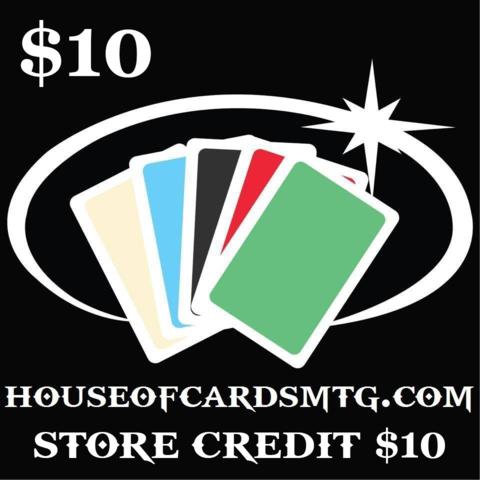 Store Credit -$10