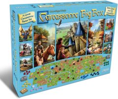 Carcassonne Big Box 2017 Release