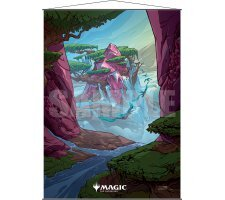 Ultra Pro - Ikoria: Lair of Behemoths Wall Scroll - Ketria Triome